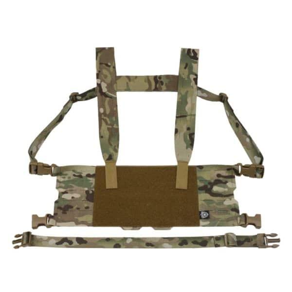 Wide Harness to minimalistyczny chest rig firmyFerro Concepts o szerokości 10 komórek systemu MOLLE