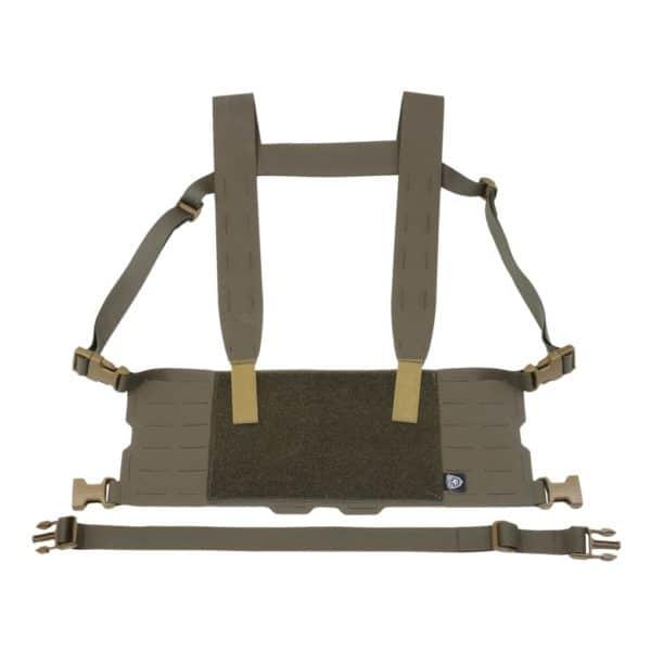 Minimalistyczny chest-rig, który skonfigurujesz wg własnych potrzeb.