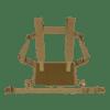 Minimalistyczny chest rig kompatybilny z szerokim wachlarzem kieszeni oraz akcesoriów serii ADAPT Carrier System, co pozwala na jego konfigurację wg potrzeb